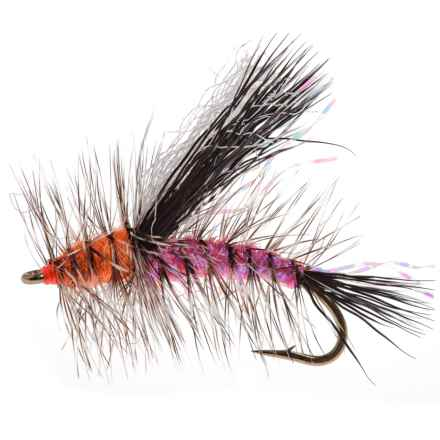 Dream Cast Black Wing Crystal Stimmy Dry Fly - Dozen in Pink - Closeouts