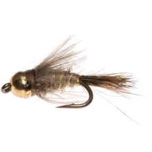Dream Cast CDC Hares Ear Flashback Nymph Fly - Dozen in Natural - Closeouts