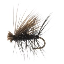 Dream Cast Elk Caddis Dry Fly - Dozen in Black - Closeouts