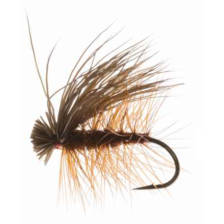 Dream Cast Elk Caddis Dry Fly - Dozen in Brown - Closeouts