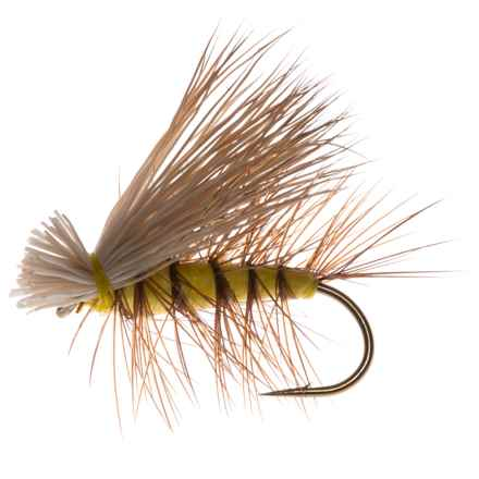 Dream Cast Elk Caddis Dry Fly - Dozen in Yellow - Closeouts