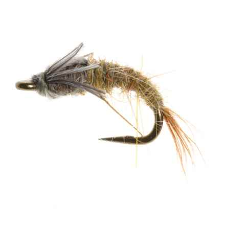 Dream Cast Emerger Barr Nymph Fly - Dozen in Blue Winged Olive - Closeouts