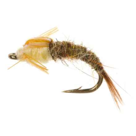 Dream Cast Flashback Emerger Nymph Fly - Dozen in Pmd - Closeouts