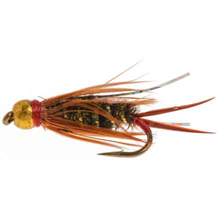 Dream Cast Flashy Prince STD Bead Nymph Fly - Dozen in See Photo - Closeouts