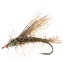 Dream Cast Foam Body Stimulator Dry Flies - Dozen in Green - Closeouts