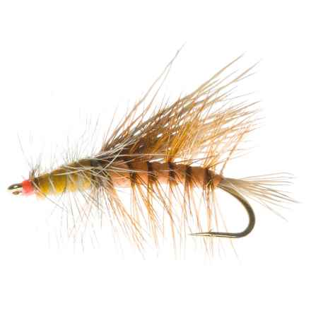 Dream Cast Foam Body Stimulator Dry Flies - Dozen in Orange - Closeouts