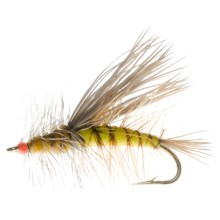 Dream Cast Foam Body Stimulator Dry Flies - Dozen in Yellow - Closeouts