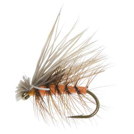 Dream Cast Foam Elk Caddis Dry Fly - 1 Dozen in Orange - Closeouts