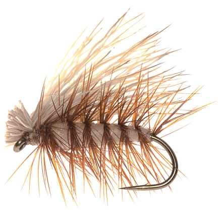 Dream Cast Foam Elk Caddis Dry Fly - 1 Dozen in Tan - Closeouts