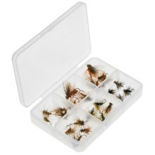 Dream Cast Foam Elk Hair Caddis Dry Fly Assortment - 2-Dozen in See Photo - Closeouts
