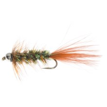 Dream Cast Gaviglio's Cascade Bugger Bead Head Streamer - Dozen in Natural - Closeouts
