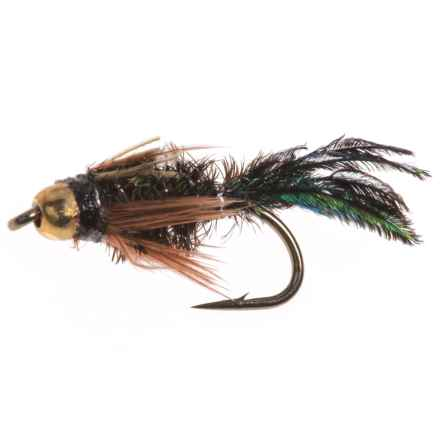 Dream Cast Gold Beadhead Zug Bug Nymph Fly - Dozen in See Photo - Closeouts