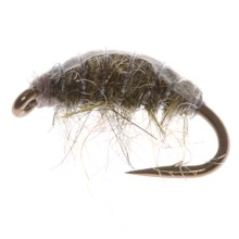 Dream Cast Hunchback Scud McLellan Nymph Fly - Dozen in Grey - Closeouts