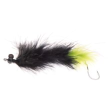 Dream Cast JB's Living Leech Streamer Fly - Dozen in Black/Green - Closeouts