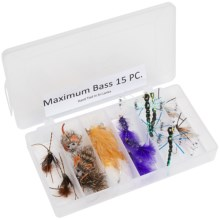 Dream Cast Maximum Bass Fly Assortment -15-Piece in Asst - Closeouts