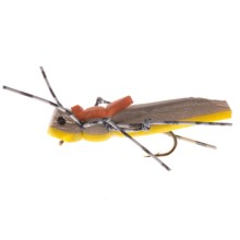 Dream Cast Morrish Hopper Dry Fly - Dozen in Yellow - Closeouts