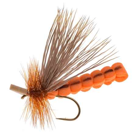 Dream Cast October Caddis Adult Foam Dry Fly - Dozen in Orange - Closeouts