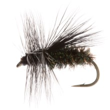 Dream Cast Peacock Caddis Dry Fly - Dozen in Natural - Closeouts