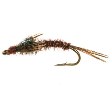 Dream Cast Pheasant Tail Flashback Skinny Nymph Fly - Dozen in See Photo - Closeouts