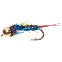 Dream Cast Psycho Prince Nymph Fly - Dozen in Blue - Closeouts