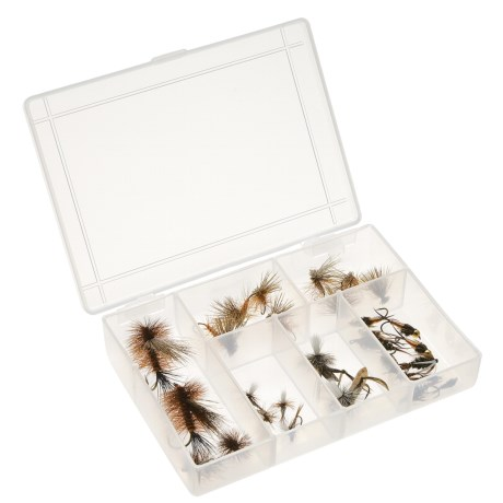 Dream Cast Rocky Mountain Assorted Flies - 30-Piece in See Photo