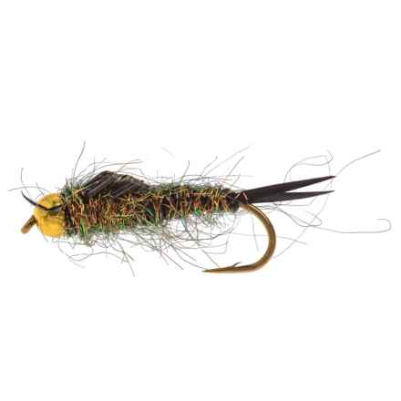 Dream Cast Rogue Ice Stone Nymph Fly - Dozen in Peacock - Closeouts