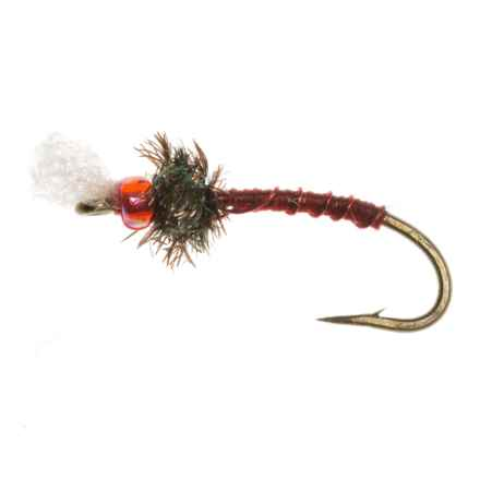 Dream Cast Rojo Midge Garcia's Nymph Fly - Dozen in Hot Red - Closeouts