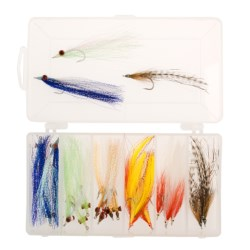 Dream Cast Saltwater Streamer Fly Assortment - 24 in See Photo