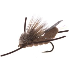 Dream Cast Super Hopper Dry Fly - Dozen in Tan - Closeouts
