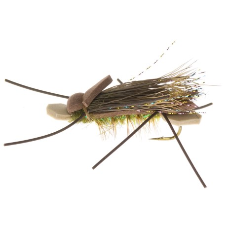 Dream Cast Teton Foam Ant Fly - Dozen in Olive