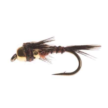 Dream Cast Two Bit Hooker Copper Bead Dry Fly - Dozen in Brown - Closeouts