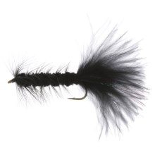 Dream Cast Wooly Bugger Streamer Fly - Box of 12 in Black - Closeouts