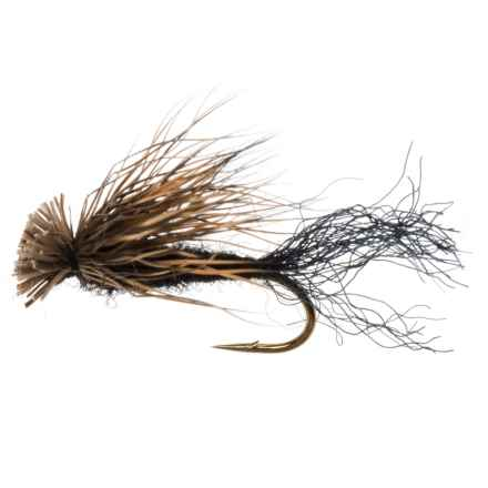 Dream Cast X Caddis Dry Fly - Dozen in Black - Closeouts