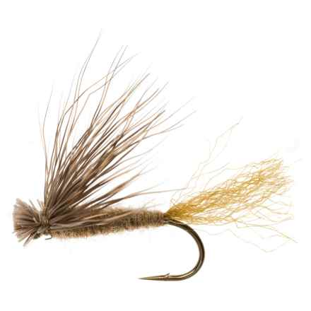 Dream Cast X Caddis Dry Fly - Dozen in Tan - Closeouts