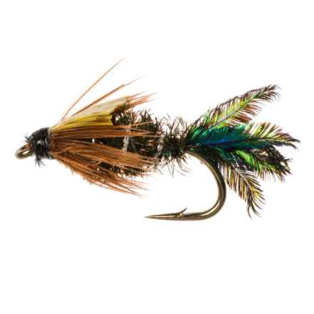 Dream Cast Zug Bug Nymph Fly - Dozen in Natural - Closeouts