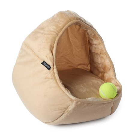 """Dream Dome Pet Bed - 17x15"""" in Camel"""