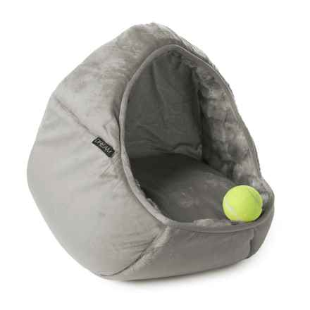"""Dream Dome Pet Bed - 17x15"""" in Charcoal - Closeouts"""