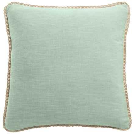 """Dream Home Freda Chenille Pillow - 20x20"""" in Mineral - Closeouts"""