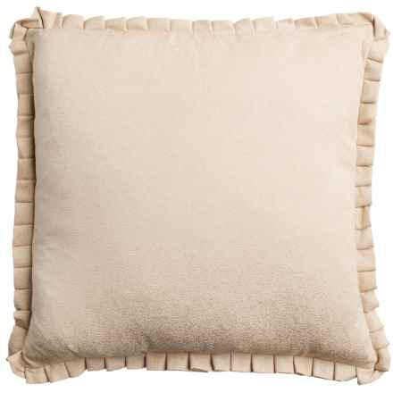 """Dream Home Lori Throw Pillow - 20"""" in Taupe - Closeouts"""