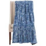Dream Home Printed Plush Denim Throw Blanket - 60x70""
