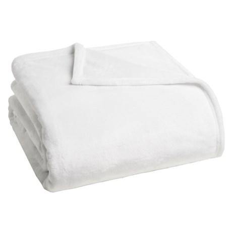 Dream Home Ultra Plush Velvet Blanket - King in White
