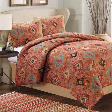 Dream Suite Aztec Comforter Set - King, 4-Piece in Multi - Overstock