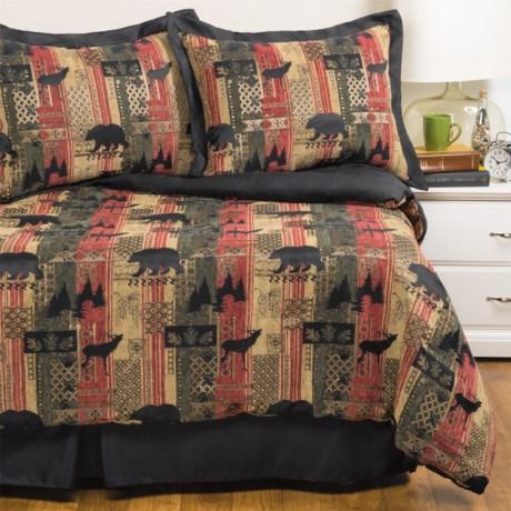 Dream Suite Rhinebeck Comforter Set - King, 4-Piece in Multi
