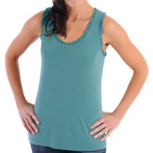 DreamSacks® by Yala Riley Ruffle Tank Top - Racerback (For Women) in Marine - Closeouts