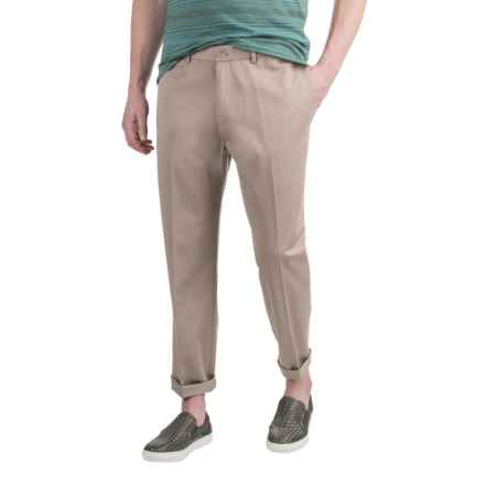 Dress Khaki Pants - Cotton Twill (For Men) in Ash - 2nds