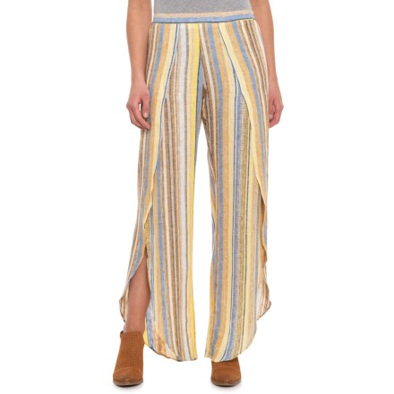 7463b05ff0fd Drew Lemon Whitney Pants - Linen-Rayon (For Women) in Lemon - Closeouts