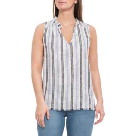 227dddeb Drew Multi Cream Stella Shirt - Sleeveless (For Women) in Cream/Multi -