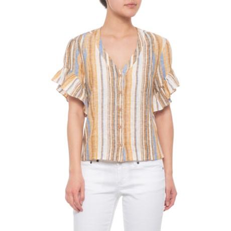 191857ec Drew Oat-Khaki-Neutral-Blue Beverly Shirt (For Women) - Save 52%