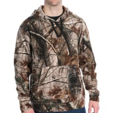 Dri Duck Voltage Fleece Hoodie Sweatshirt - UPF 50 (For Men) in Realtree Ap - Closeouts