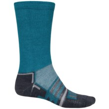 Dri-Stride Lightweight Socks - Crew (For Men) in Blue - 2nds
